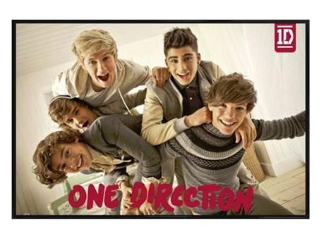 Framed Gloss Black Framed Pile On! - One Direction