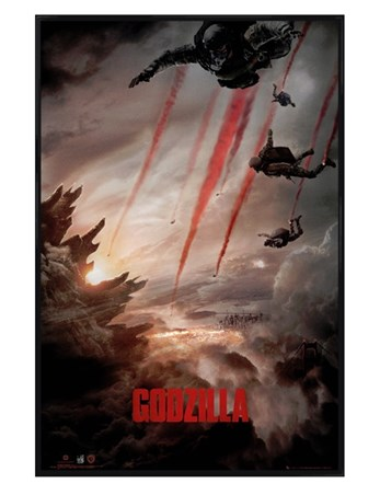Gloss Black Framed Godzilla Skydive -