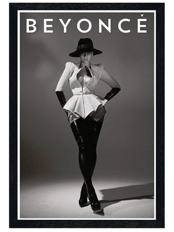 Black Wooden Framed Drunk In Love - Beyonce