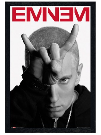 Black Wooden Framed Horns - Eminem