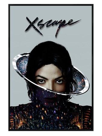 Gloss Black Framed Xscape - Michael Jackson
