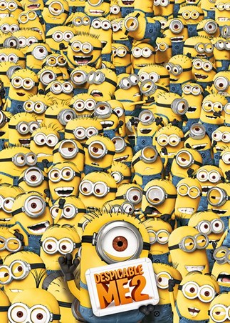 Framed Many Minions - Despicable Me 2