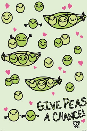 Give Peas A Chance - David & Goliath