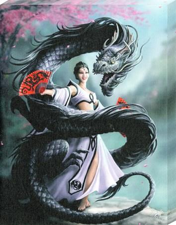 Dragon Dancer Canvas Print - Anne Stokes