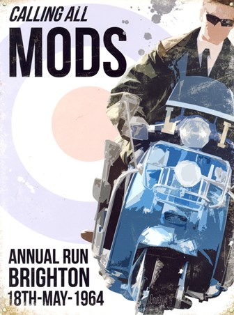 Calling All Mods Brighton 1964 - Annual Run