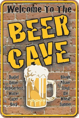 Welcome To The Beer Cave - Pint Please!