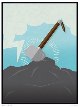 Minimal Movies: Thor - Thor's Hammer