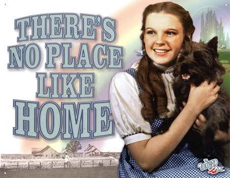 Framed There's No Place Like Home - The Wizard of Oz