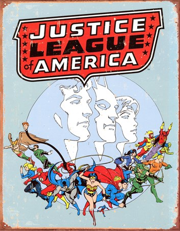 Justice League of America - Calling All Superheroes