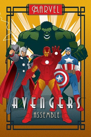 Avengers Assemble - Marvel Deco