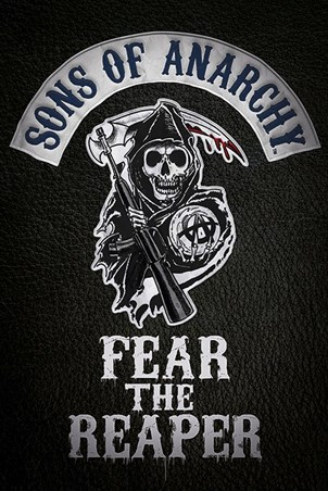 Framed Fear The Reaper - Sons of Anarchy