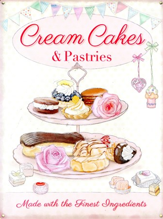 Cream Cakes & Pastries - The Finest Ingredients