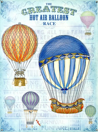 The Greatest Hot Air Balloon Race - Up Up and Away