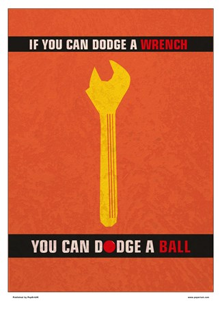 Minimal Movies: A Wrench Dodgeball - Dodge a Wrench Dodge a Ball