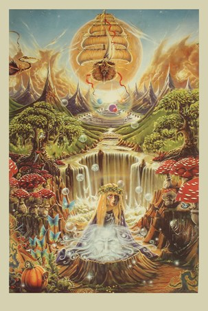 Labyrinth Falls - Mystical Lands