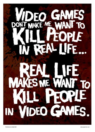 Framed Kill People In Video Games - Get It Right