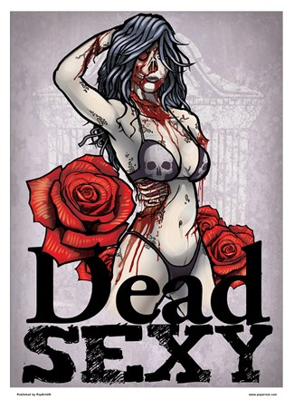 Dead Sexy Mini Poster - Seduction