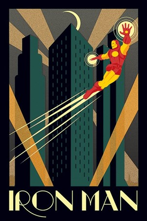 Iron Man, Marvel Deco