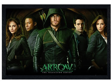 Black Wooden Framed Arrow - The Television Series
