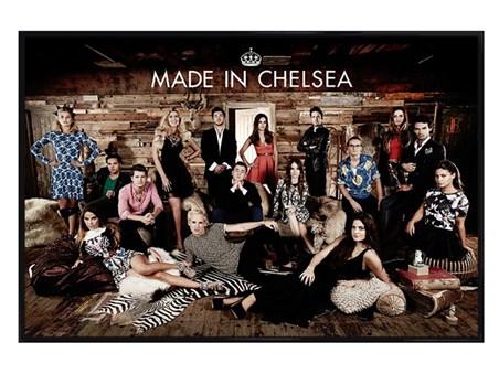 Gloss Black Framed Made In Chelsea - E4 Reality TV Programme