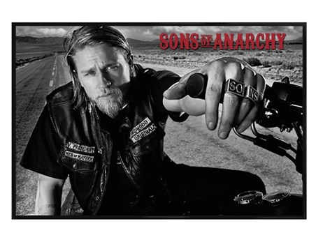 Gloss Black Framed Jackson - Sons Of Anarchy
