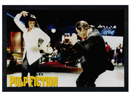 Black Wooden Framed Jackrabbit Slim's - Pulp Fiction