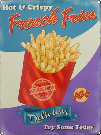 Hot & Crispy French Fries, Hot & Crispy
