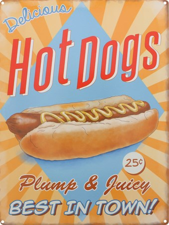 Plump & Juicy - Delicious Hot Dogs
