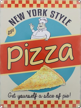 New York Style Pizza - Get Yourself a Slice