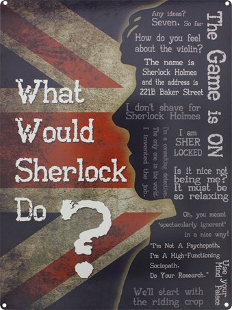 What Would Sherlock Do? - Solve the Case