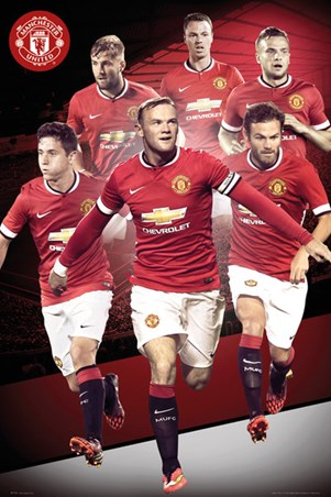 Manchester United Star Players 2014/15 - Manchester United Football Club