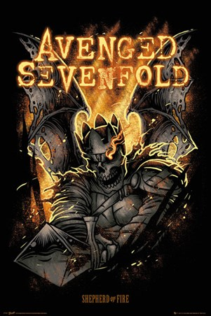 Framed Shepherd of Fire - Avenged Sevenfold