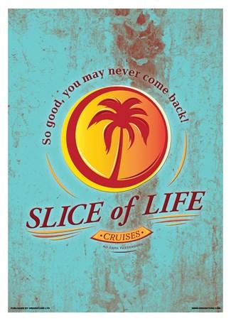 Framed Slice Of Life Cruises Mini Poster - Inspired By Dexter