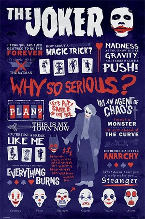Joker Quotographic - Why So Serious?