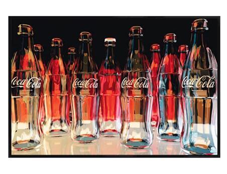 Gloss Black Framed Red Eleven - Coca Cola
