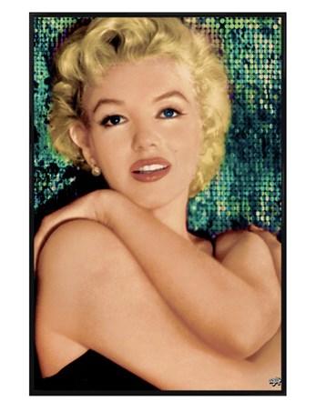 Gloss Black Framed Unspoilt Beauty - Marilyn Monroe