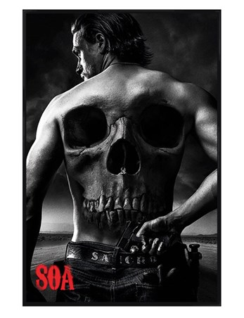 Gloss Black Framed Jax - Sons Of Anarchy
