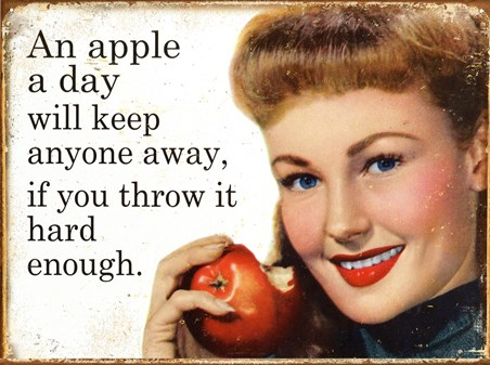 An Apple A Day, Stay Away