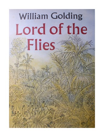 Framed Lord of the Flies - William Golding