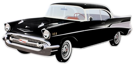 Framed 1957 Chevy - The Auto Icon