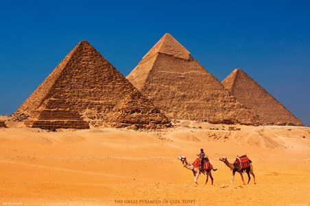Pyramids of Giza - Egypt