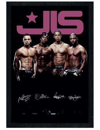 Framed Black Wooden Framed Six Pack Legends - JLS