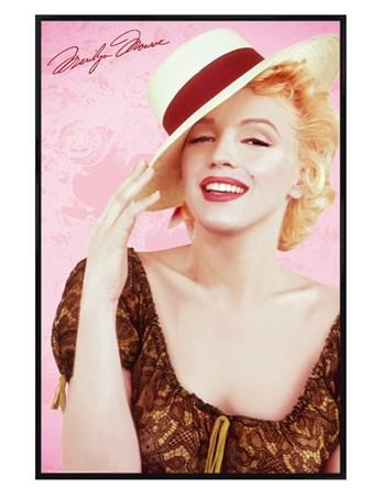Gloss Black Framed A Very Stylish Icon - Marilyn Monroe