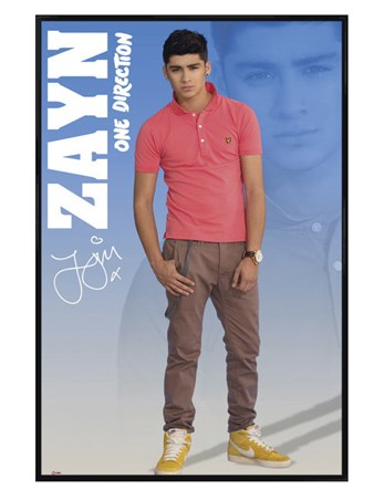 Gloss Black Framed Zayn - One Direction