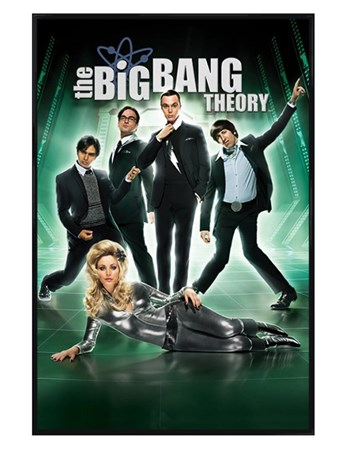 Gloss Black Framed Barberella - The Big Bang Theory
