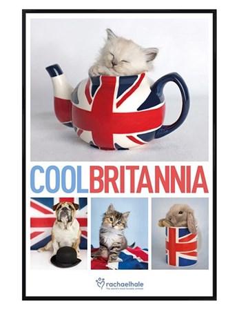 Gloss Black Framed Cool Britannia - Rachael Hale