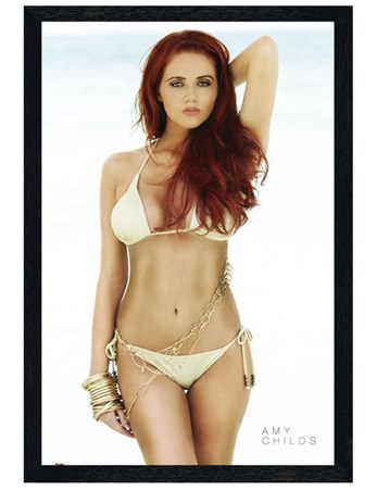 Black Wooden Framed An Essex Beauty - Amy Childs