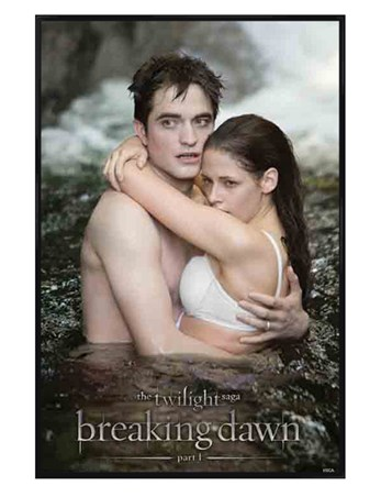 Gloss Black Framed Honeymoon Perfection - Twilight: Breaking Dawn