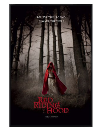 Gloss Black Framed Believe the Legend - Red Riding Hood