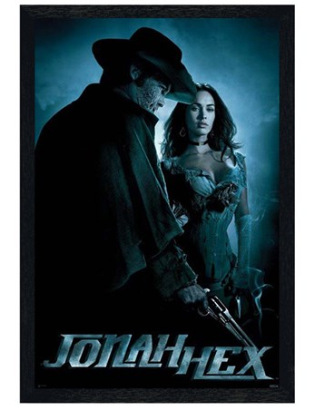 Framed Black Wooden Framed Josh Brolin is Jonah - Jonah Hex
